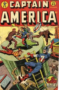 Cover Thumbnail for Captain America Comics (Marvel, 1941 series) #43