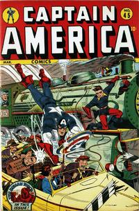 Cover Thumbnail for Captain America Comics (Marvel, 1941 series) #45