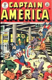 Cover Thumbnail for Captain America Comics (Marvel, 1941 series) #48