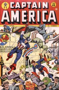 Cover Thumbnail for Captain America Comics (Marvel, 1941 series) #49