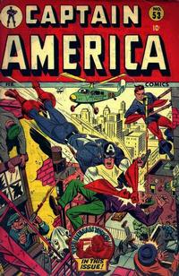 Cover Thumbnail for Captain America Comics (Marvel, 1941 series) #53