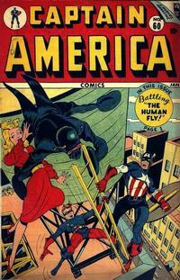 Cover Thumbnail for Captain America Comics (Marvel, 1941 series) #60