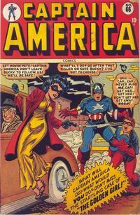 Cover Thumbnail for Captain America Comics (Marvel, 1941 series) #66