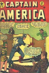Cover Thumbnail for Captain America Comics (Marvel, 1941 series) #67