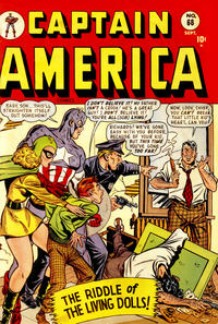 Cover Thumbnail for Captain America Comics (Marvel, 1941 series) #68