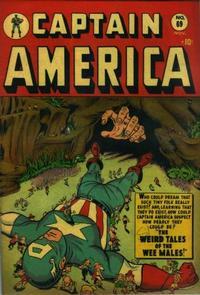 Cover Thumbnail for Captain America Comics (Marvel, 1941 series) #69