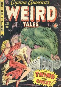 Cover Thumbnail for Captain America's Weird Tales (Marvel, 1949 series) #75