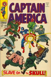 Cover Thumbnail for Captain America (Marvel, 1968 series) #104