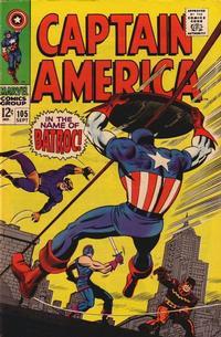 Cover Thumbnail for Captain America (Marvel, 1968 series) #105