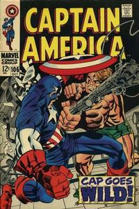 Cover Thumbnail for Captain America (Marvel, 1968 series) #106