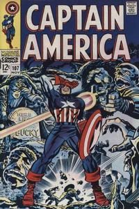 Cover Thumbnail for Captain America (Marvel, 1968 series) #107