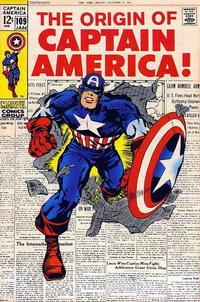 Cover Thumbnail for Captain America (Marvel, 1968 series) #109