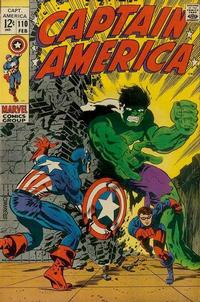 Cover Thumbnail for Captain America (Marvel, 1968 series) #110