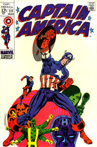 Cover for Captain America (Marvel, 1968 series) #111