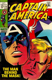 Cover for Captain America (Marvel, 1968 series) #114
