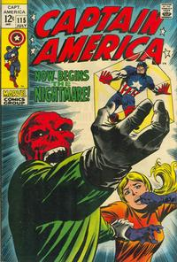Cover Thumbnail for Captain America (Marvel, 1968 series) #115
