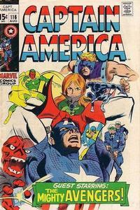 Cover Thumbnail for Captain America (Marvel, 1968 series) #116