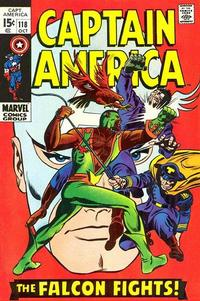 Cover Thumbnail for Captain America (Marvel, 1968 series) #118
