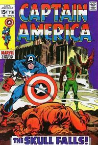 Cover Thumbnail for Captain America (Marvel, 1968 series) #119