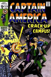 Cover for Captain America (Marvel, 1968 series) #120