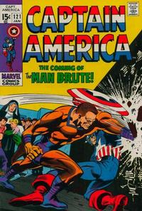 Cover Thumbnail for Captain America (Marvel, 1968 series) #121
