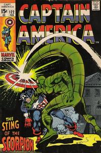 Cover Thumbnail for Captain America (Marvel, 1968 series) #122