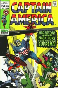 Cover Thumbnail for Captain America (Marvel, 1968 series) #123