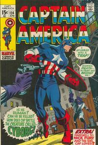 Cover Thumbnail for Captain America (Marvel, 1968 series) #124