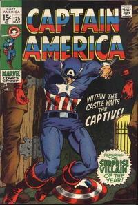 Cover Thumbnail for Captain America (Marvel, 1968 series) #125