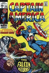 Cover for Captain America (Marvel, 1968 series) #126