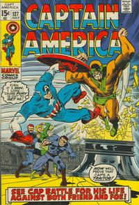 Cover Thumbnail for Captain America (Marvel, 1968 series) #127