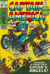 Cover Thumbnail for Captain America (Marvel, 1968 series) #128