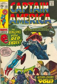 Cover Thumbnail for Captain America (Marvel, 1968 series) #129