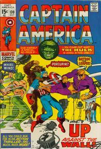 Cover Thumbnail for Captain America (Marvel, 1968 series) #130