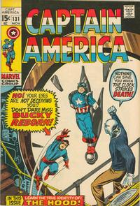 Cover Thumbnail for Captain America (Marvel, 1968 series) #131