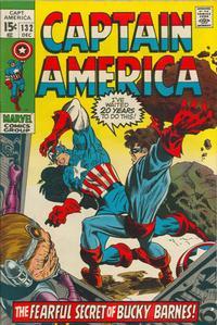 Cover Thumbnail for Captain America (Marvel, 1968 series) #132