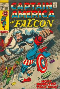 Cover Thumbnail for Captain America (Marvel, 1968 series) #135