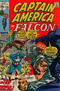 Cover Thumbnail for Captain America (Marvel, 1968 series) #136