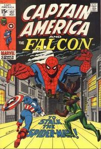 Cover Thumbnail for Captain America (Marvel, 1968 series) #137