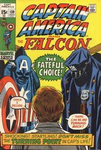 Cover Thumbnail for Captain America (Marvel, 1968 series) #139