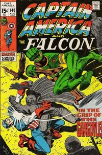 Cover Thumbnail for Captain America (Marvel, 1968 series) #140