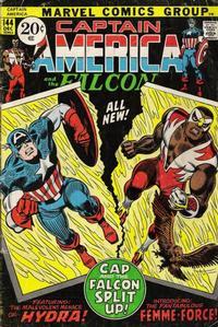 Cover Thumbnail for Captain America (Marvel, 1968 series) #144
