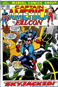 Cover Thumbnail for Captain America (Marvel, 1968 series) #145