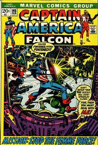 Cover Thumbnail for Captain America (Marvel, 1968 series) #146
