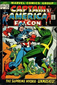 Gcd Issue Captain America 147