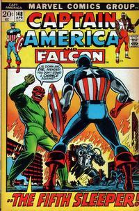 Cover Thumbnail for Captain America (Marvel, 1968 series) #148 [Regular Edition]
