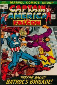 Cover Thumbnail for Captain America (Marvel, 1968 series) #149