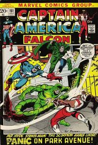 Cover Thumbnail for Captain America (Marvel, 1968 series) #151