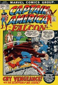 Cover Thumbnail for Captain America (Marvel, 1968 series) #152 [Regular Cover]