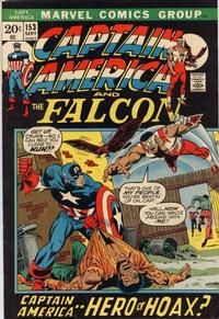 Cover Thumbnail for Captain America (Marvel, 1968 series) #153